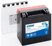 EXIDE MAINTENANCE FREE ETX16-BS
